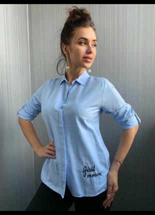"""Рубашка """"фламинго """" .женская рубашка. производитель:турция"""