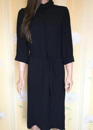 Платье рубашка миди marks & spenser размер 14