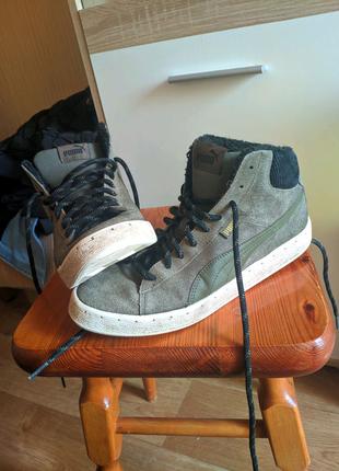 Ботинки puma зимние