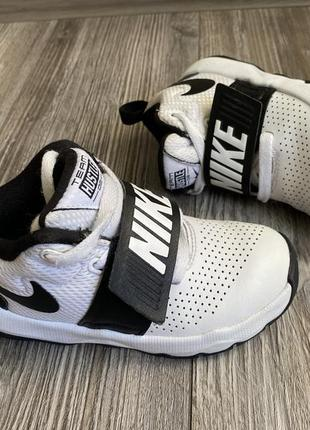 Кроссовки ботинки nike team hustle кожа 27,5