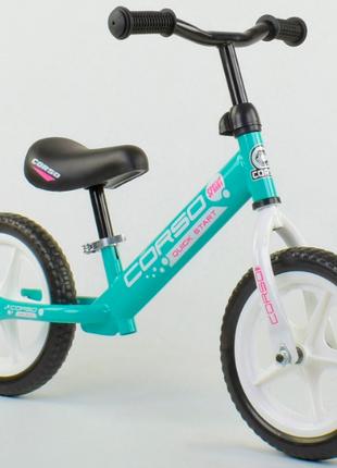 Детский беговел CORSO 17008 , колеса EVA