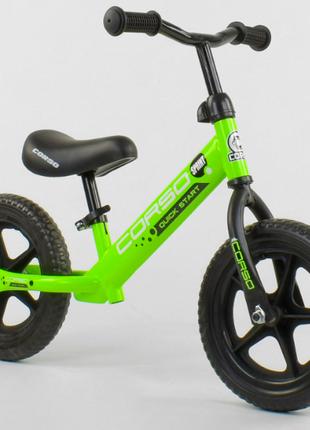 Детский беговел CORSO 19005 , колеса EVA