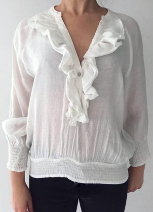 Молочная блуза, блузка.