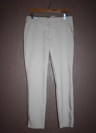 Актуальные зауженные укороченные классические брюки №104 papaya