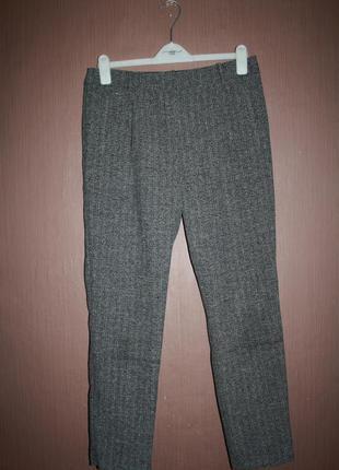 Актуальные зауженные укороченные брюки #203 tu