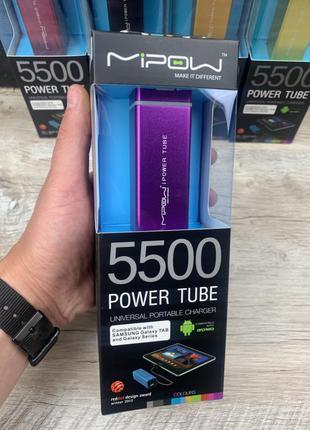 Портативна зарядка Power Bank Mipow 5500 mAh