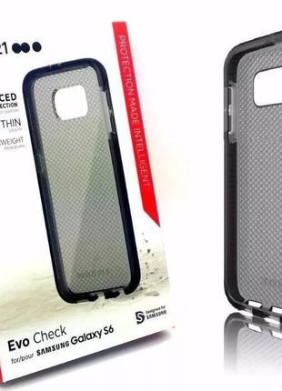 Фирменный чехол TECH21 EVO для Samsung Galaxy S6 G920 + стекло