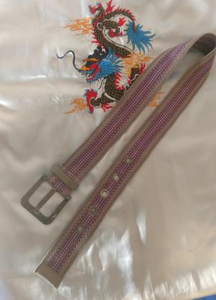 Ремень серо фиолетовый eds