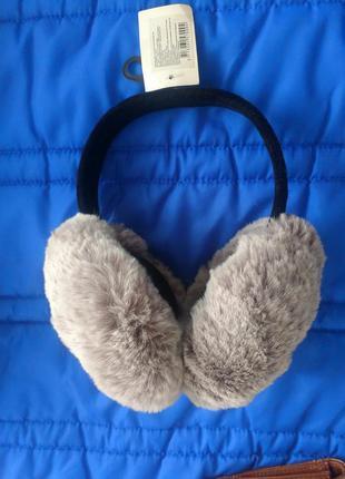 Навушники зі штучним хутром