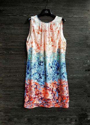Лёгкое платье в цветочный принт h&m.