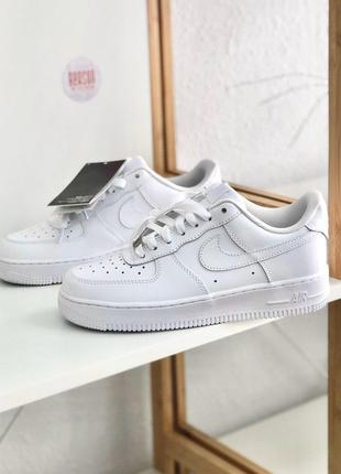 Кросівки Nike Air Force 1 Mid '07 White