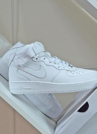 Кросівки Nike Air Force 1 Mid White+