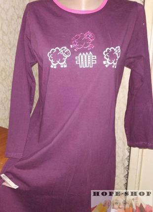 💞домашнее  хлопковое платье -футболка,ночная рубашка,сорочка