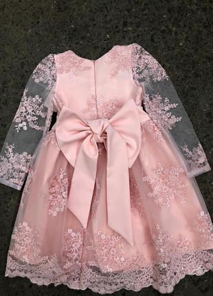 Невероятной красоты платье.