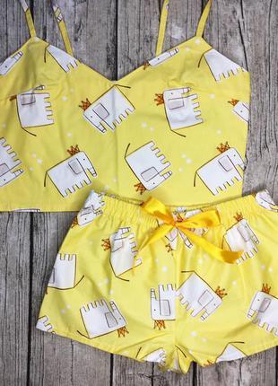 Пижама из хлопка лучший подарок на 8 марта девушке