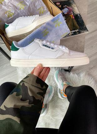 Adidas originals continental 80 vulc шикарные мужские кроссовк...