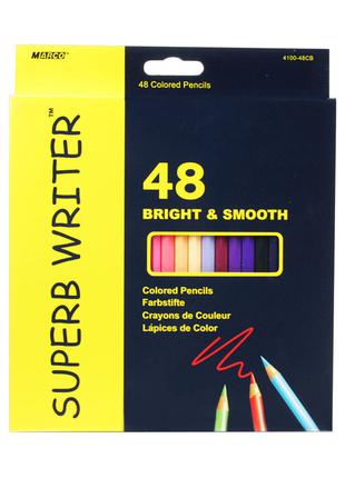 Карандаши цветные Marco Superb Writer 48 цветов (4100-48CB)