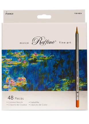 Карандаши цветные Marco Raffine 48 цветов (7100-48CB)