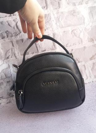 Женскийкожаный клатч шкіряний кожаная сумка