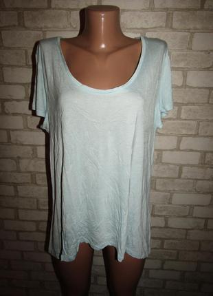 Вискозная футболка р-р 16-18 бренд primark