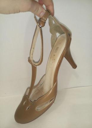 Туфли кожа мэри джейн по стельке 24 см