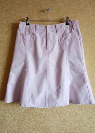 🌸замшевая юбка/пудровая юбка зефирка/юбка мокрая замша/шок цен...