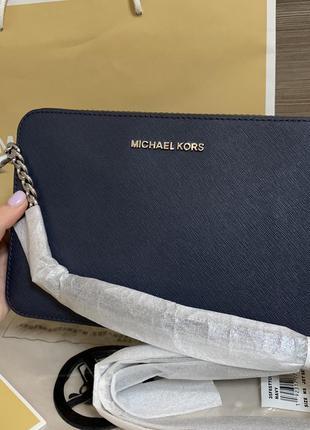 Michael kors jet set travel large сумка кроссбоди клатч оригинал