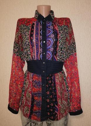🔥🔥🔥стильная легкая женская рубашка, блузка, кофта diesel🔥🔥🔥