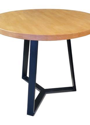 Круглый стол в стиле LOFT