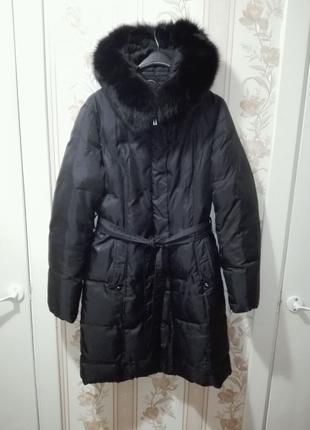 Женское пальто-пуховик. Размер XL 48-50.