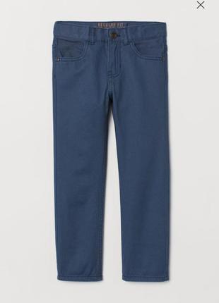 Стильные твиловые брюки h&m  4/5