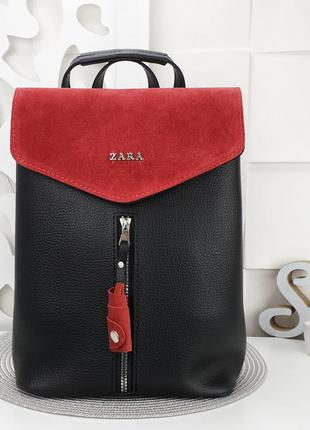 Рюкзак замш еко кожа есть цвета через плечо длинный ремешок