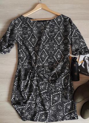 Платье с узлом от zara размер s