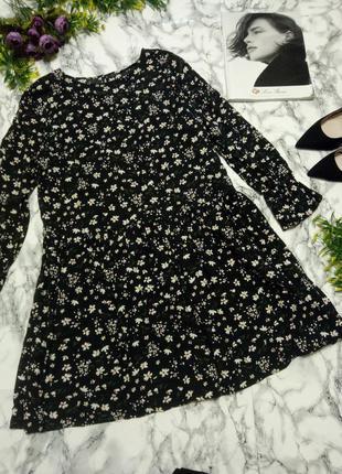 Красивое платье с цветочками нс