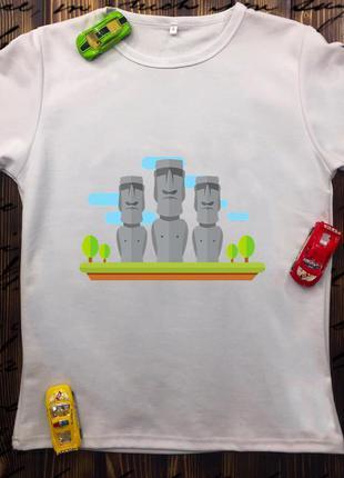 Мужская футболка с принтом - тотемы