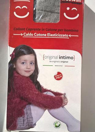 Итальянские серые колготы original intimo