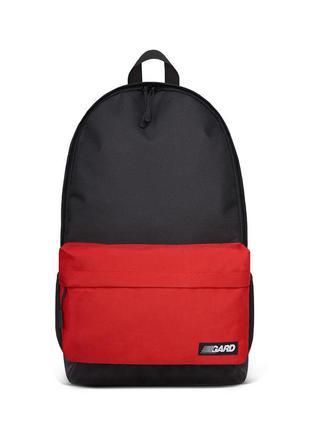 Рюкзак gard city black red
