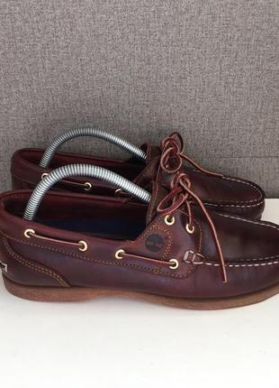 Чоловічі топсайдери timberland мужские мокасины туфли