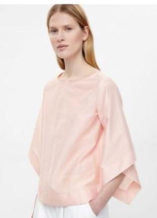 Блуза cos нежно розового цвета