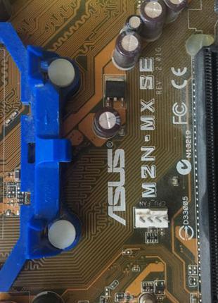 Мать и процессор asus m2n-Mx s