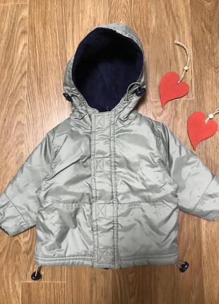 Крутая куртка с капюшоном синтепон и флисовая подкладка