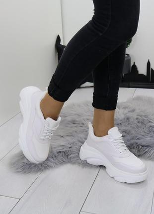 Белые кросы волна