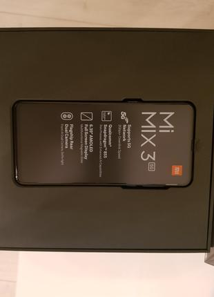 Новый Xiaomi mi mix 3 5G Global Version 128Gb