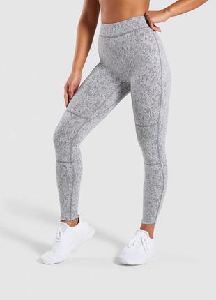 Леггинсы/лосины fleur texture leggings gymshark, xs, s, m размер