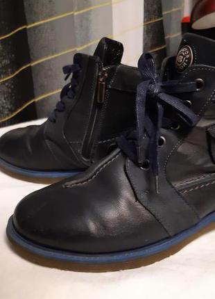 Ботинки зимние кожаные 38 р-р
