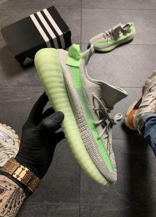 Adidas yeezy boost 350 v2 green grey