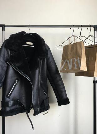 Стильная дубленка пальто куртка искусственный мех эко в стиле ...