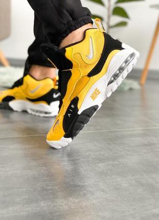 Nike air max speed turf university gold black white