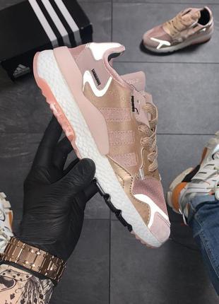 Рефлективные женские кроссовки adidas nite jogger адидас