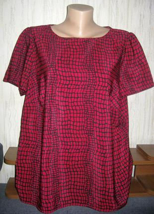 Легкая яркая блузка